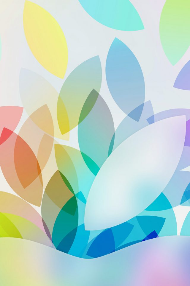 Apple Color Logo Illustration Art Android wallpaper
