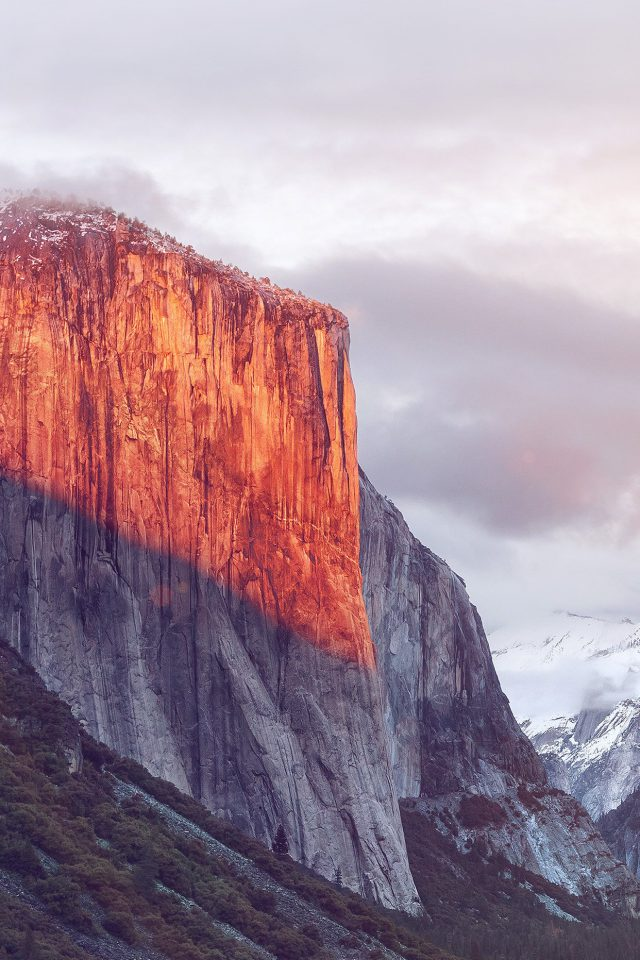 Apple El Capitan OSX Mac Mountain Wwdc Nature Flare Android wallpaper