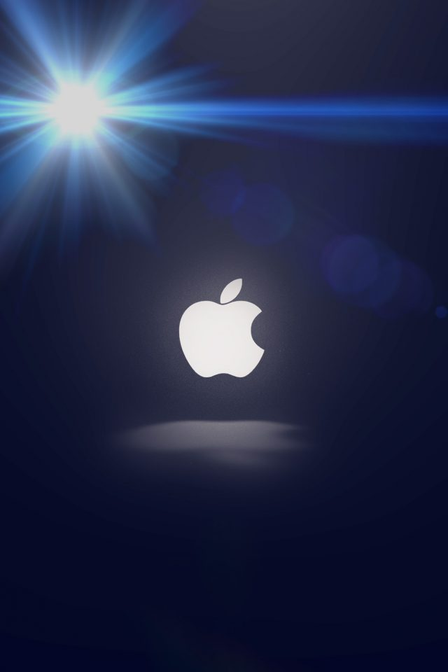 Apple Logo Love Mania Flare Android wallpaper