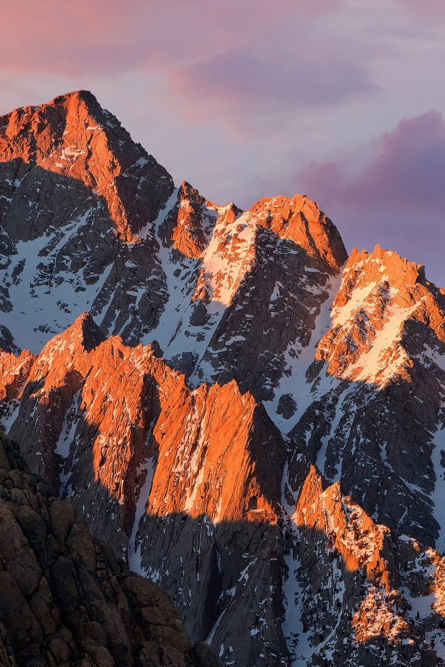 Apple MacOS Sierra Mountain WWDC Official Android wallpaper