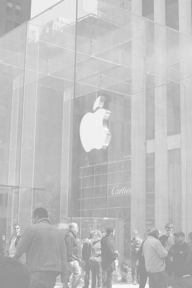 Apple Shop Newyork White Cartier City Android wallpaper