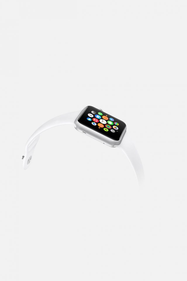 Apple Watch White Sports Art Android wallpaper
