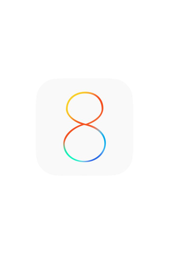 Apple IOS8 Logo Android wallpaper