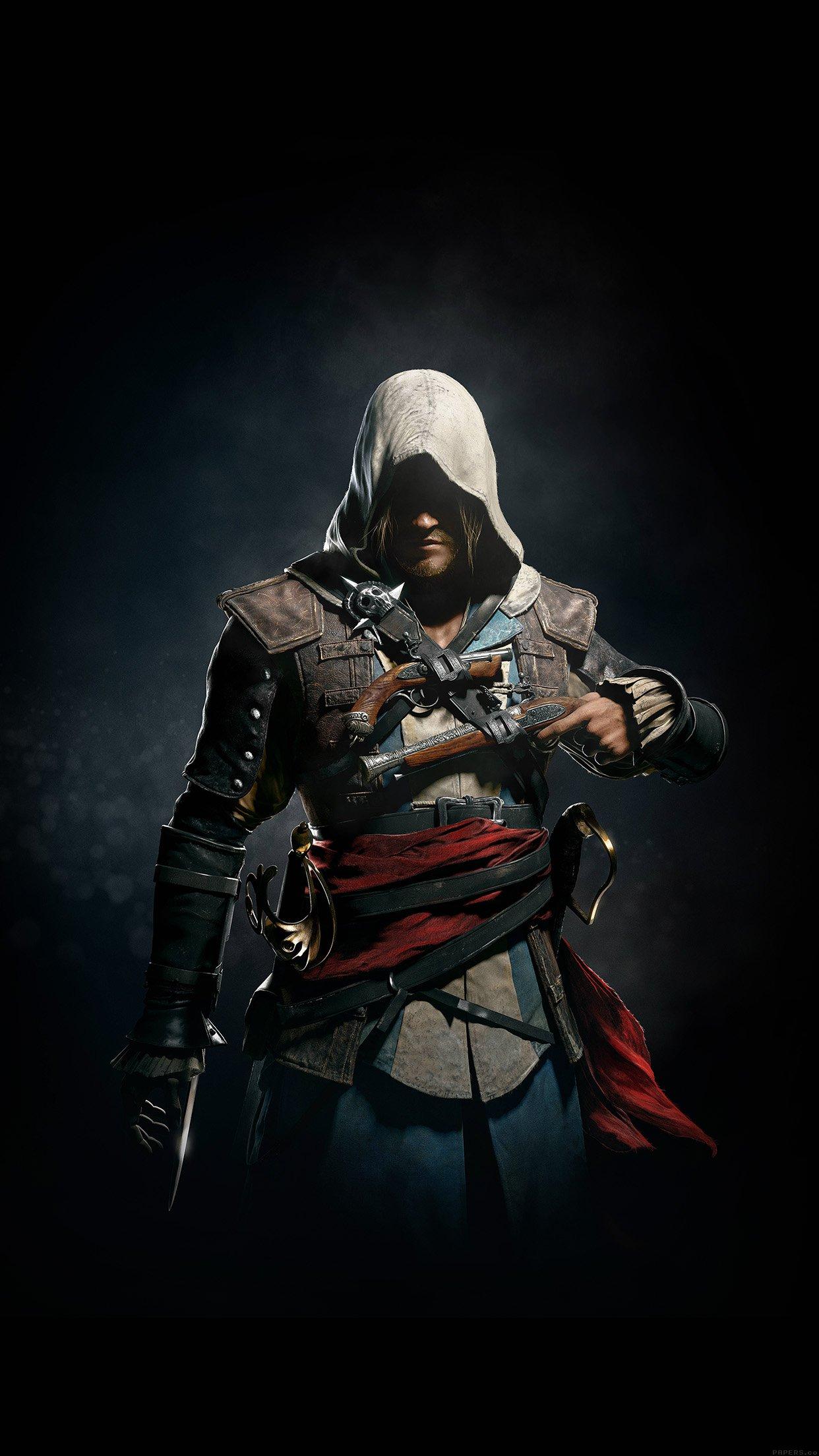 Assassins Creed 4 Dark Game Art Illust