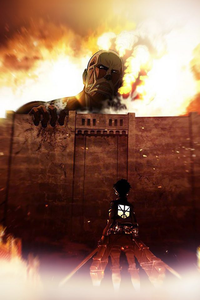 Attack On Titans Illust Anime Art Android wallpaper