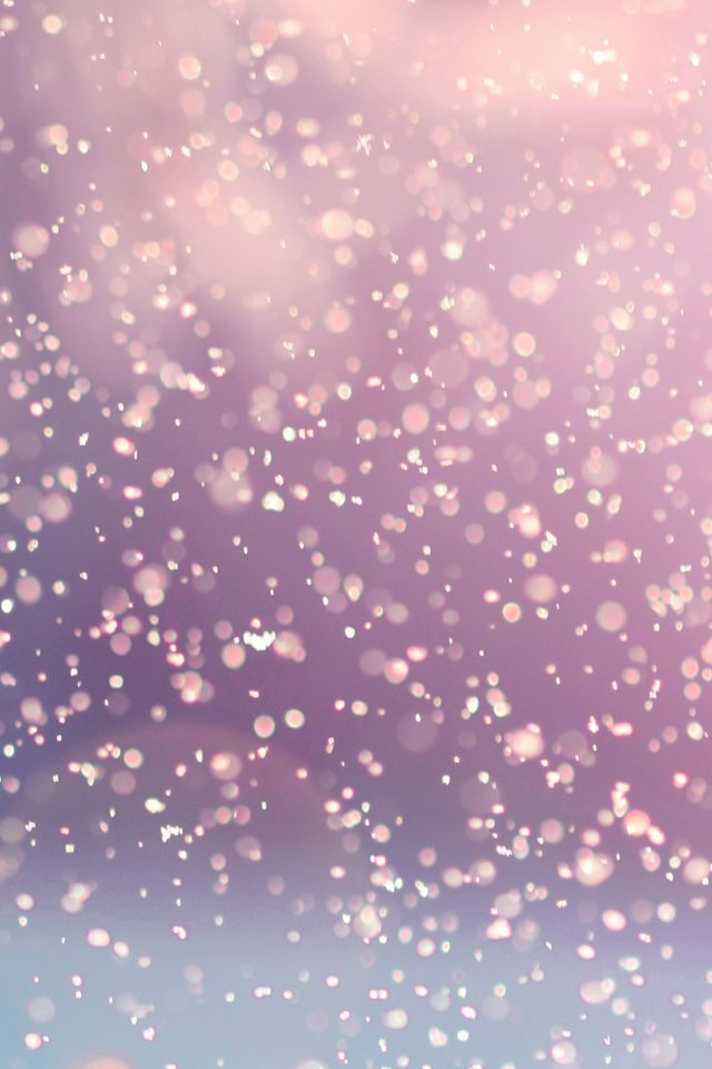 Bokeh Snow Flare Water Red Splash Pattern Android wallpaper