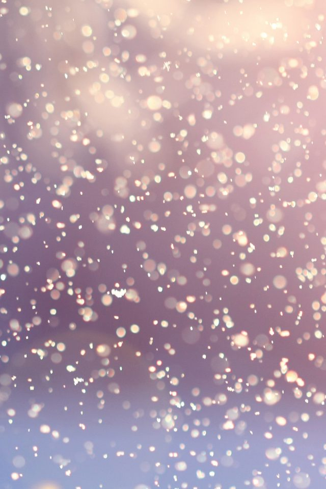 Bokeh Snow Flare Water Splash Pattern Android wallpaper