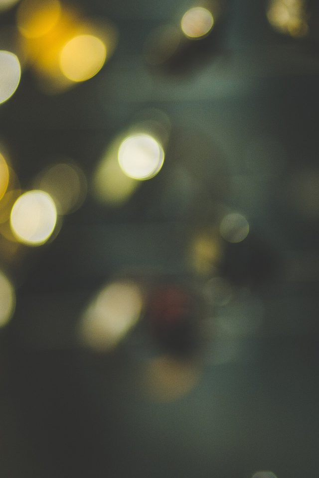 Bokeh Watch Green Lights Pattern Android wallpaper