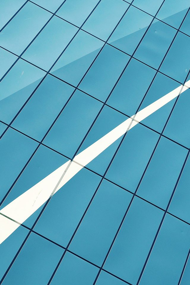 Building Window Blue Pattern Android wallpaper