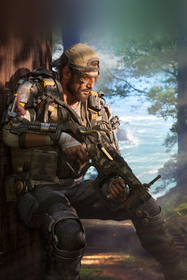 Call Of Duty Blackops Game Illustration Art Android wallpaper