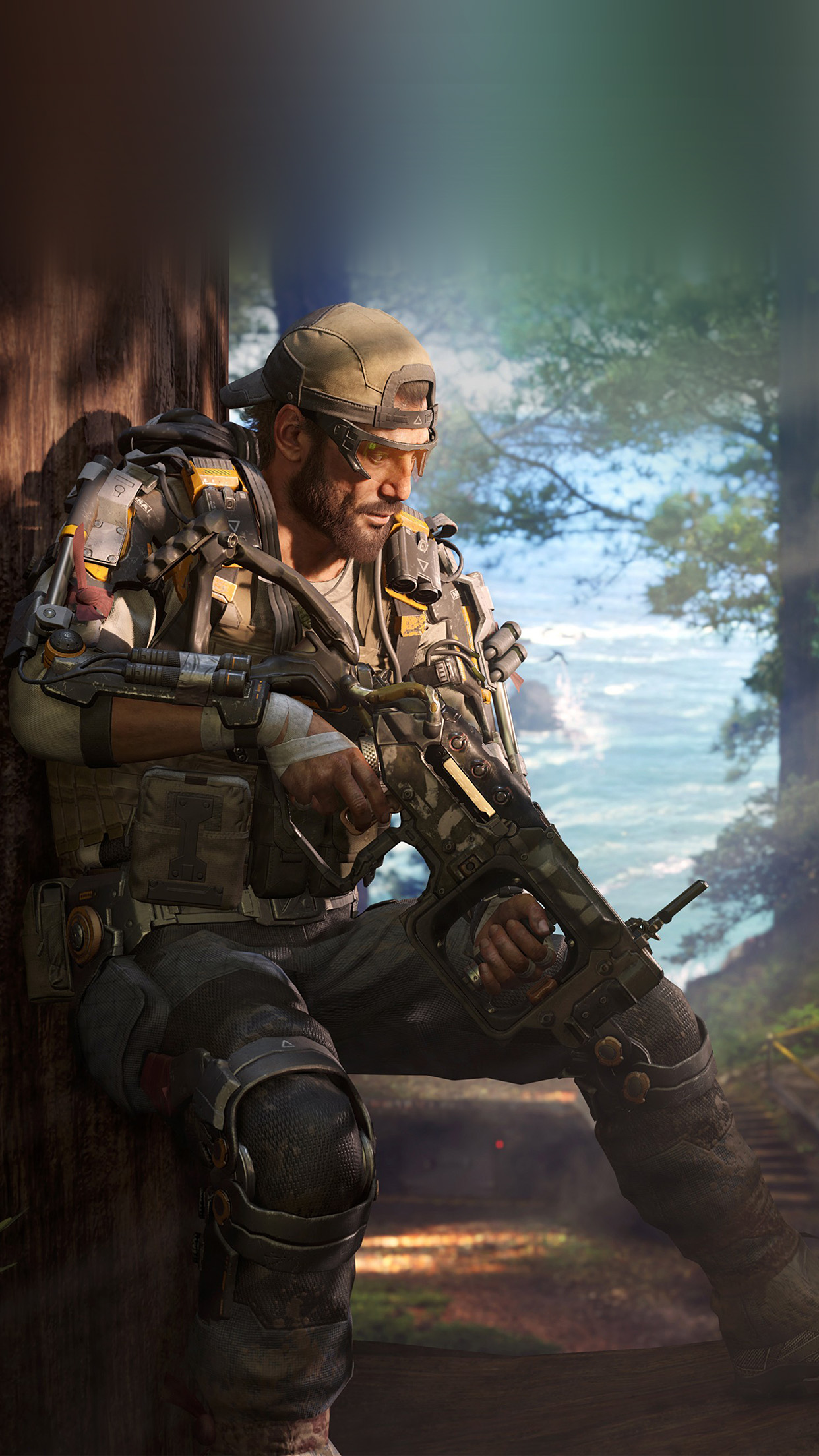 Call Of Duty Blackops Game Illustration Art Android Wallpaper