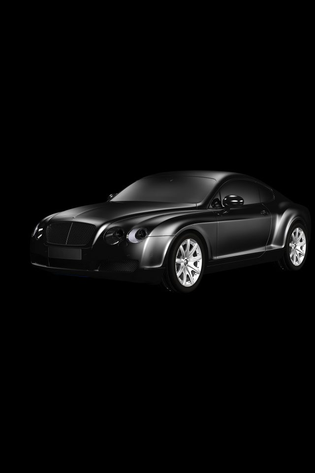 Car Bentley Dark Black Limousine Art Illustration Android wallpaper
