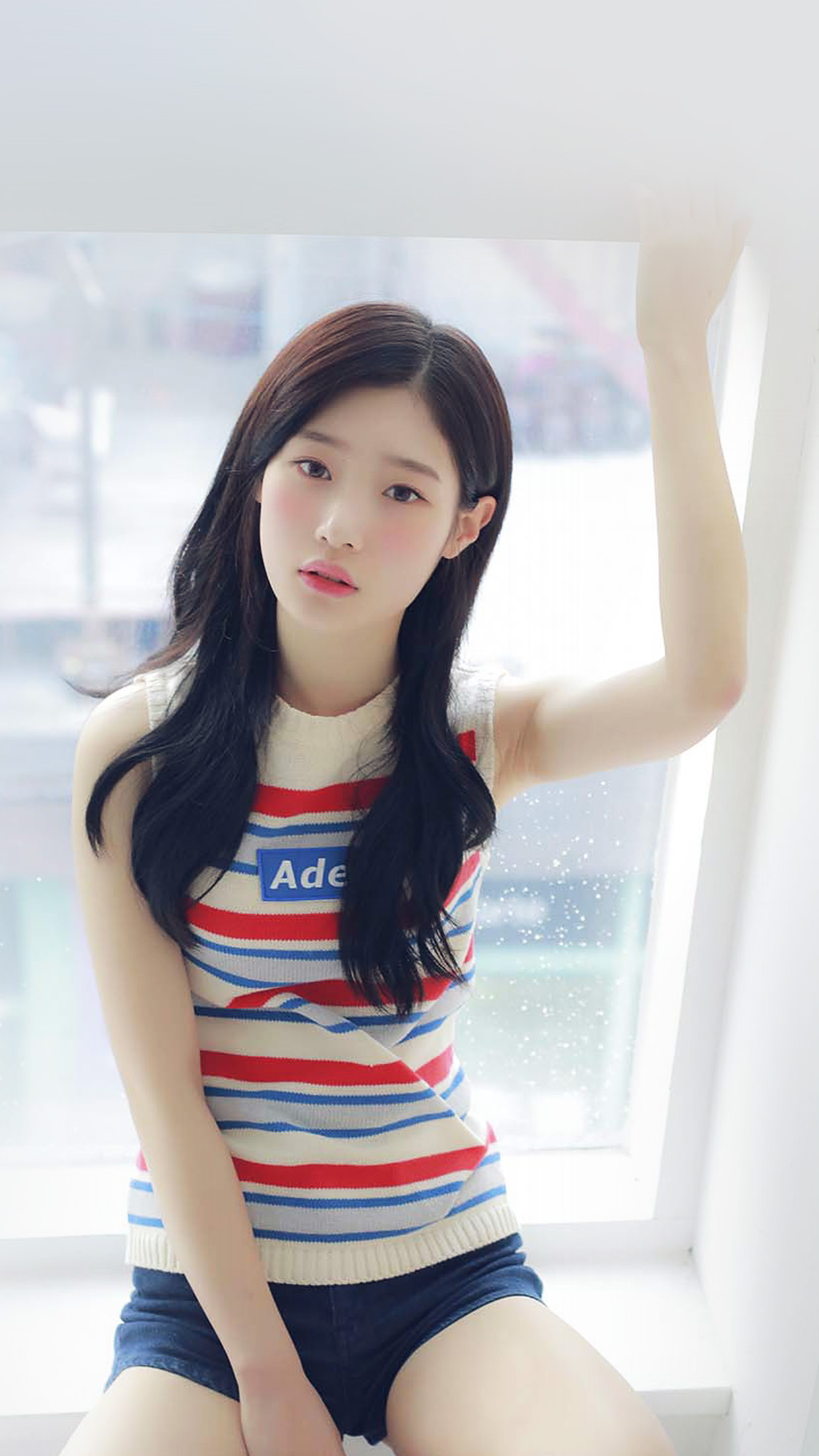 Chaeyeon Ioi Kpop Girl White Cute Android wallpaper ...
