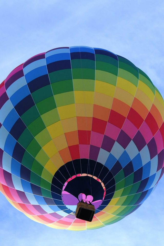 Color Air Balloon Sky Fun Android wallpaper