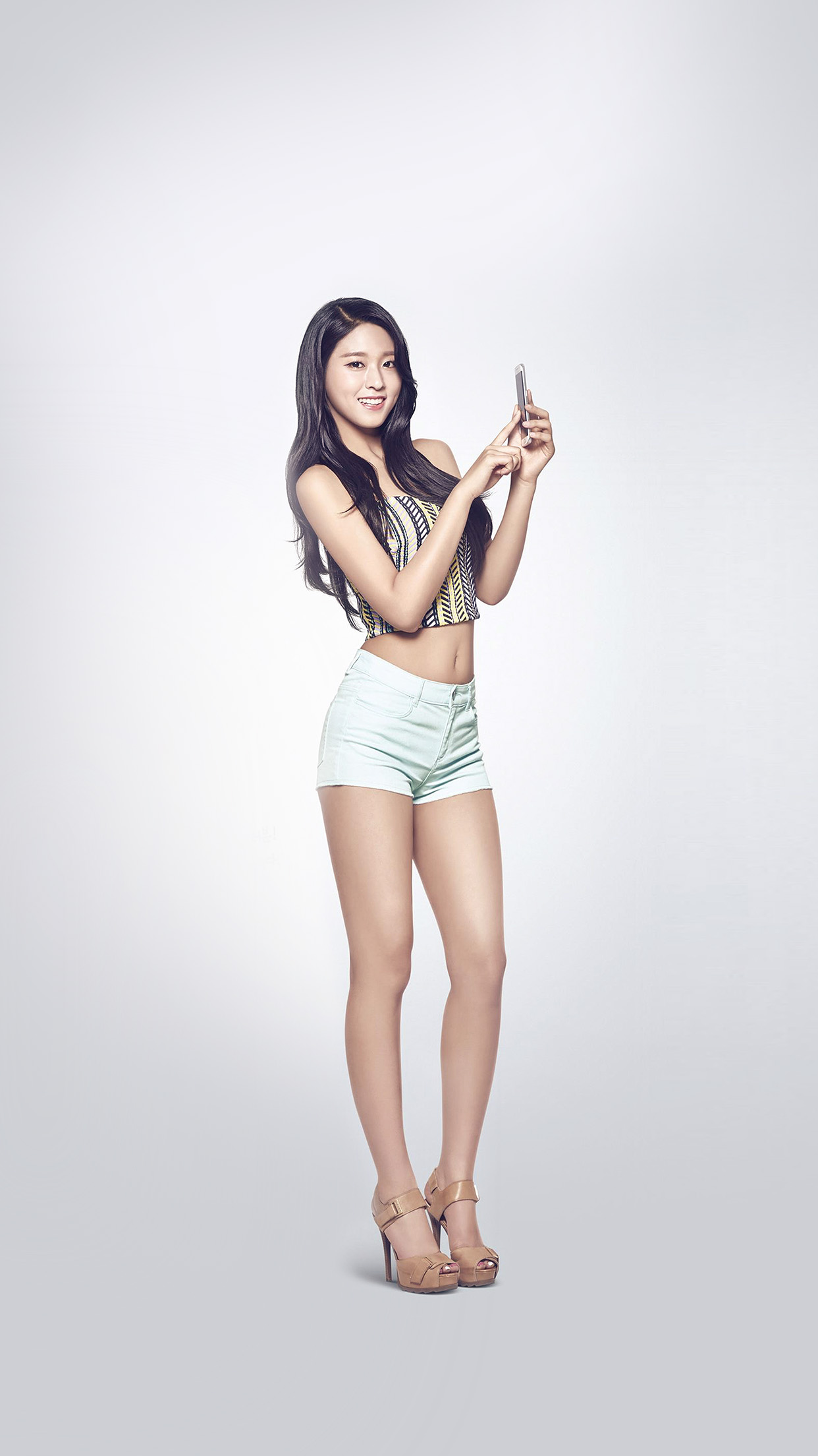 Cute Girl Music Seolhyun Kpop Aoa Android wallpaper