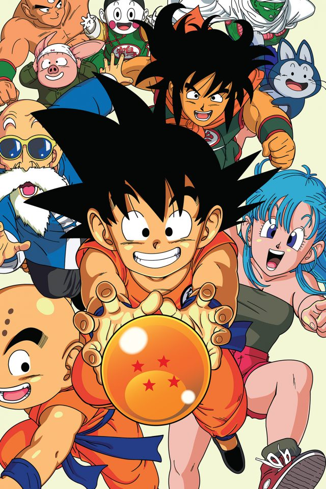 Dragonball Art Anime Japan Android wallpaper