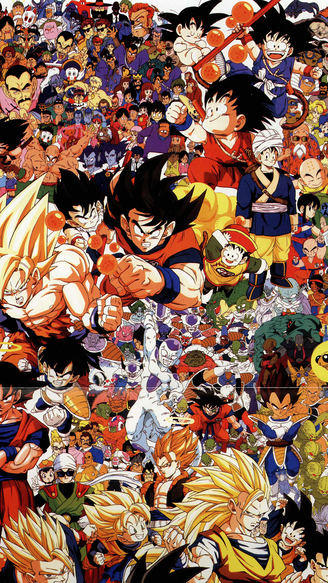 Dragonball Full Art Illust Game Anime Android Wallpaper