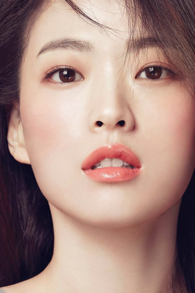 Girl Kpop Lips Cute Beauty Android wallpaper