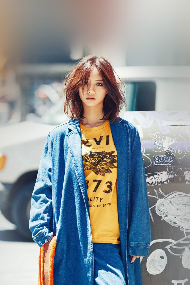 Hyeri Kpop Street Red Celebrity Girl Android wallpaper