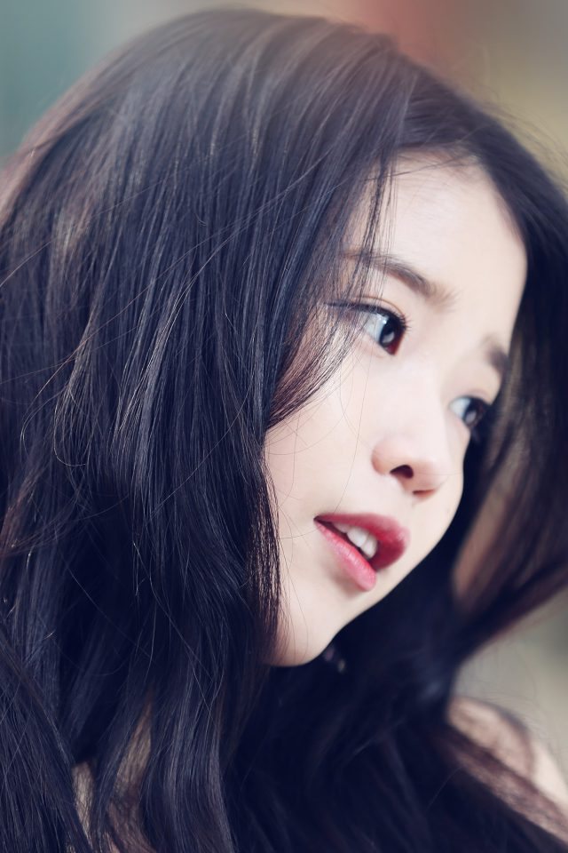 Iu Kpop Beauty Girl Singer Android wallpaper