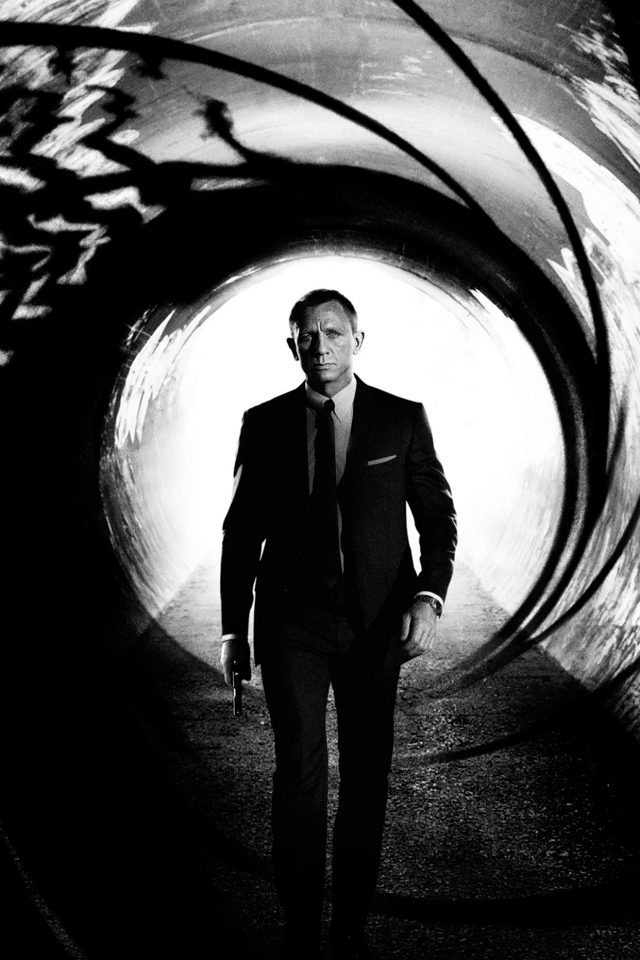 James Bond 007 Skyfall Film Poster Android wallpaper