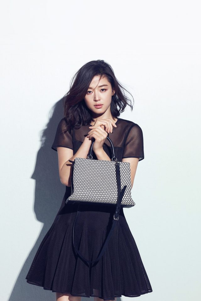 Jun Ji Hyun Actress Kpop Cute Beauty Blue Android wallpaper