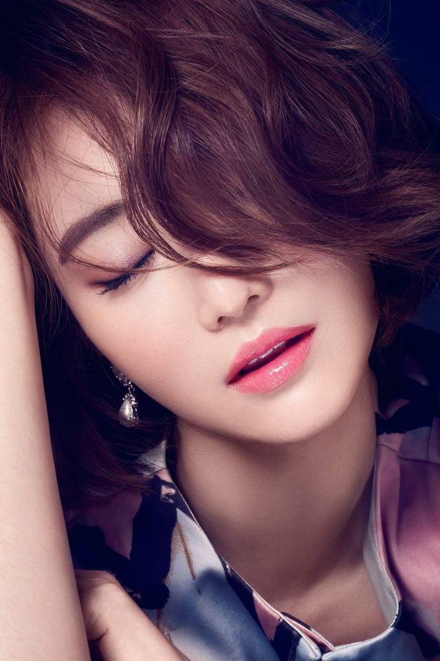 Ko Joon Hee Kpop Film Actress Closed Eyes Android wallpaper