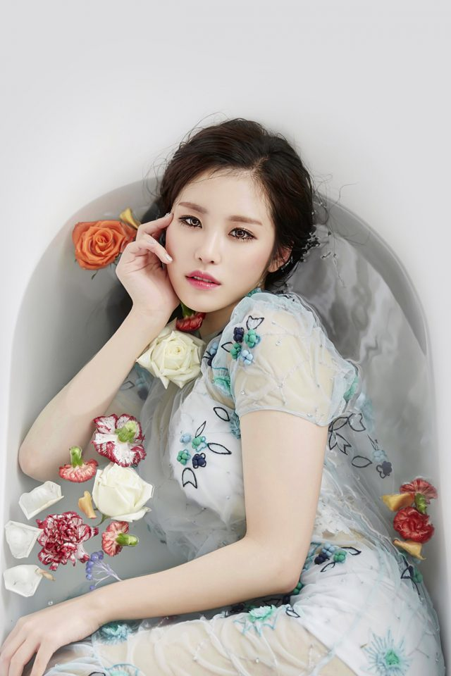 Kpop Artist Jeon Hyosung Secret Beauty Bath Android wallpaper