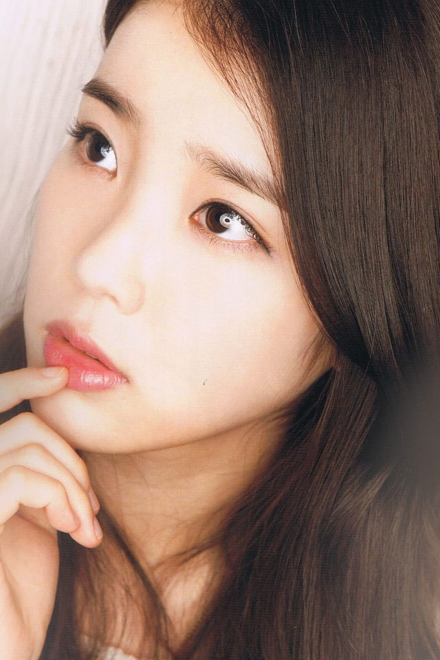 Kpop Iu Girl Music Cute Android wallpaper