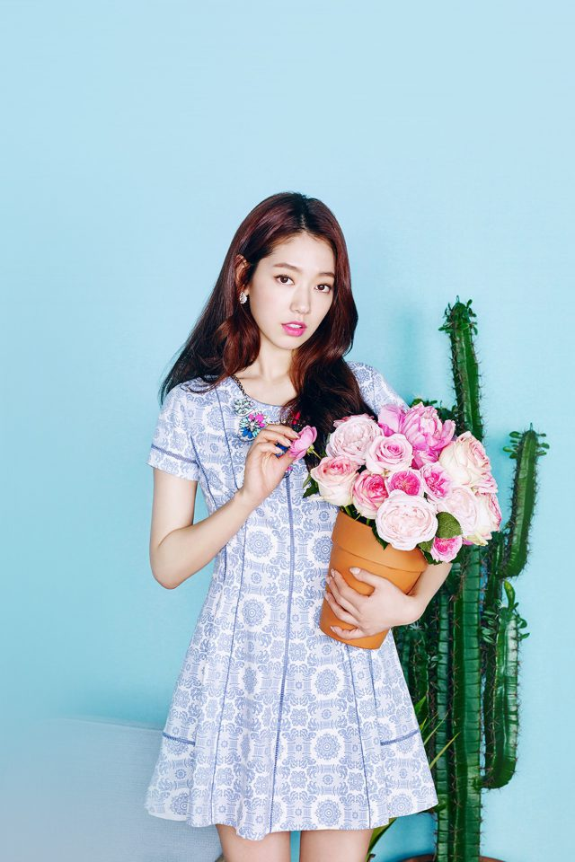Kpop Park Shinhye Flower Photoshoot Girl Android wallpaper