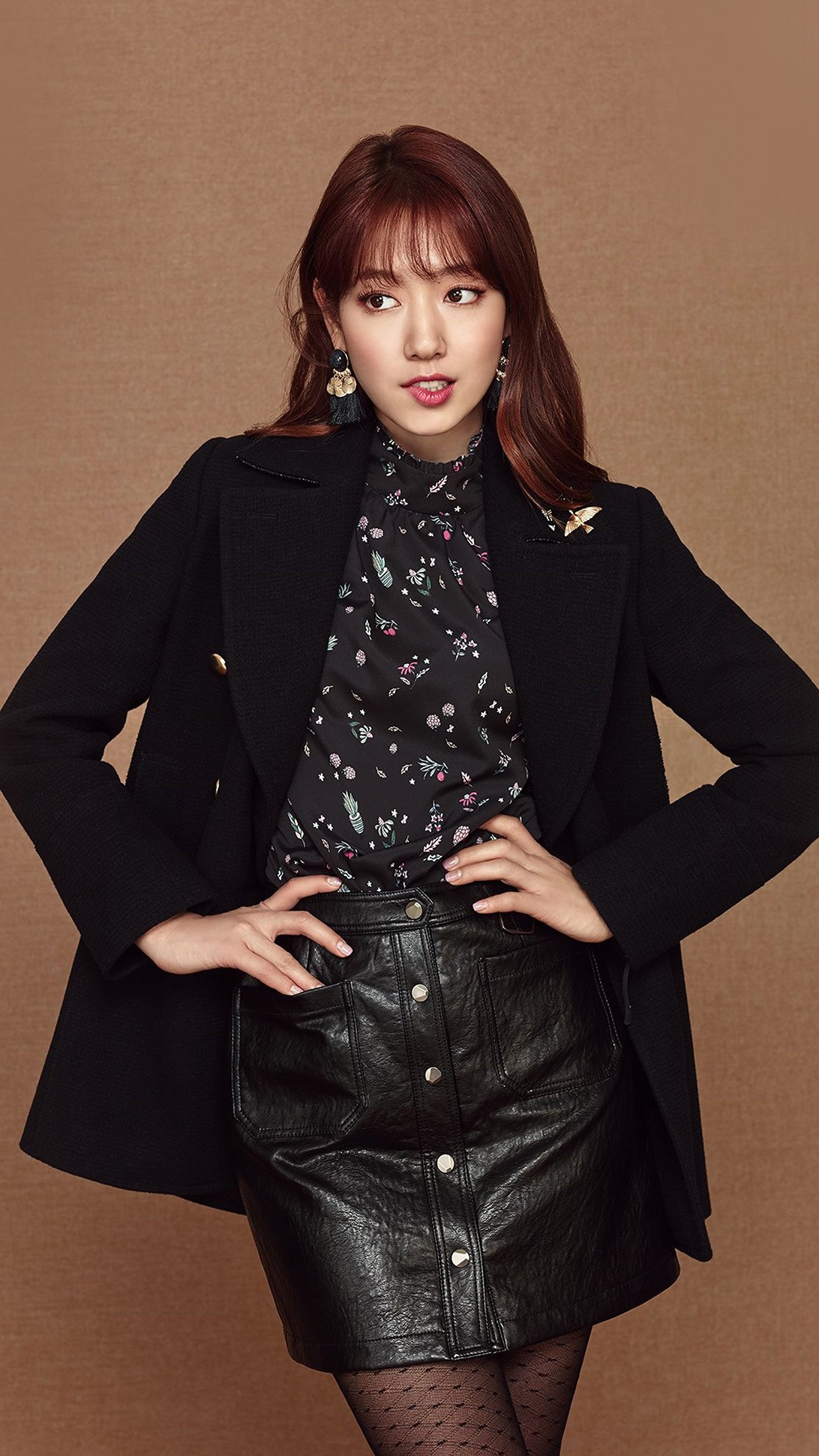Kpop Park Shinhye Girl Brown Android wallpaper