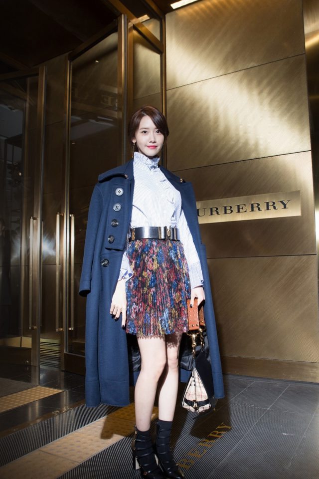 Kpop Snsd Yuna Burberry Girl Android wallpaper