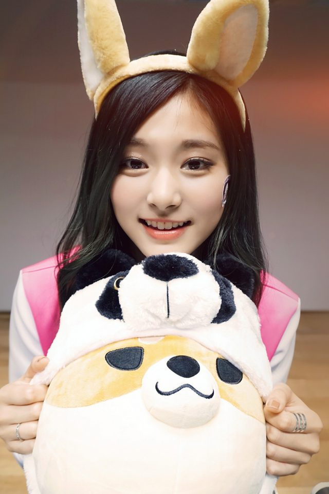 Kpop Tzuyu Asian Cute Android wallpaper