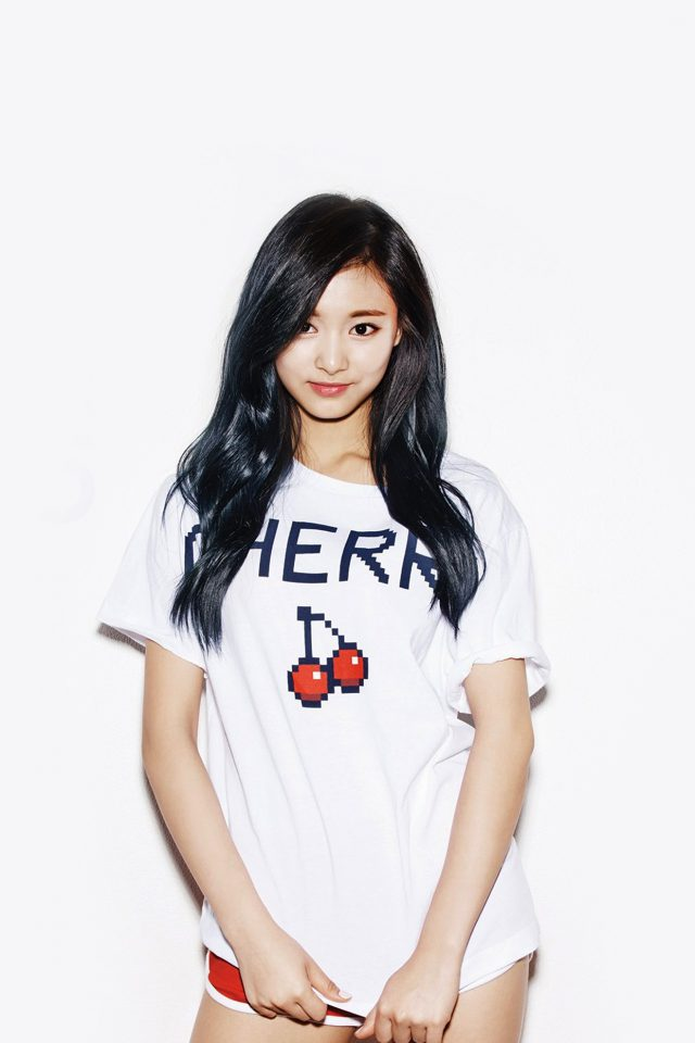 Kpop Tzuyu Oh Boy Cute Asian Twice Android wallpaper