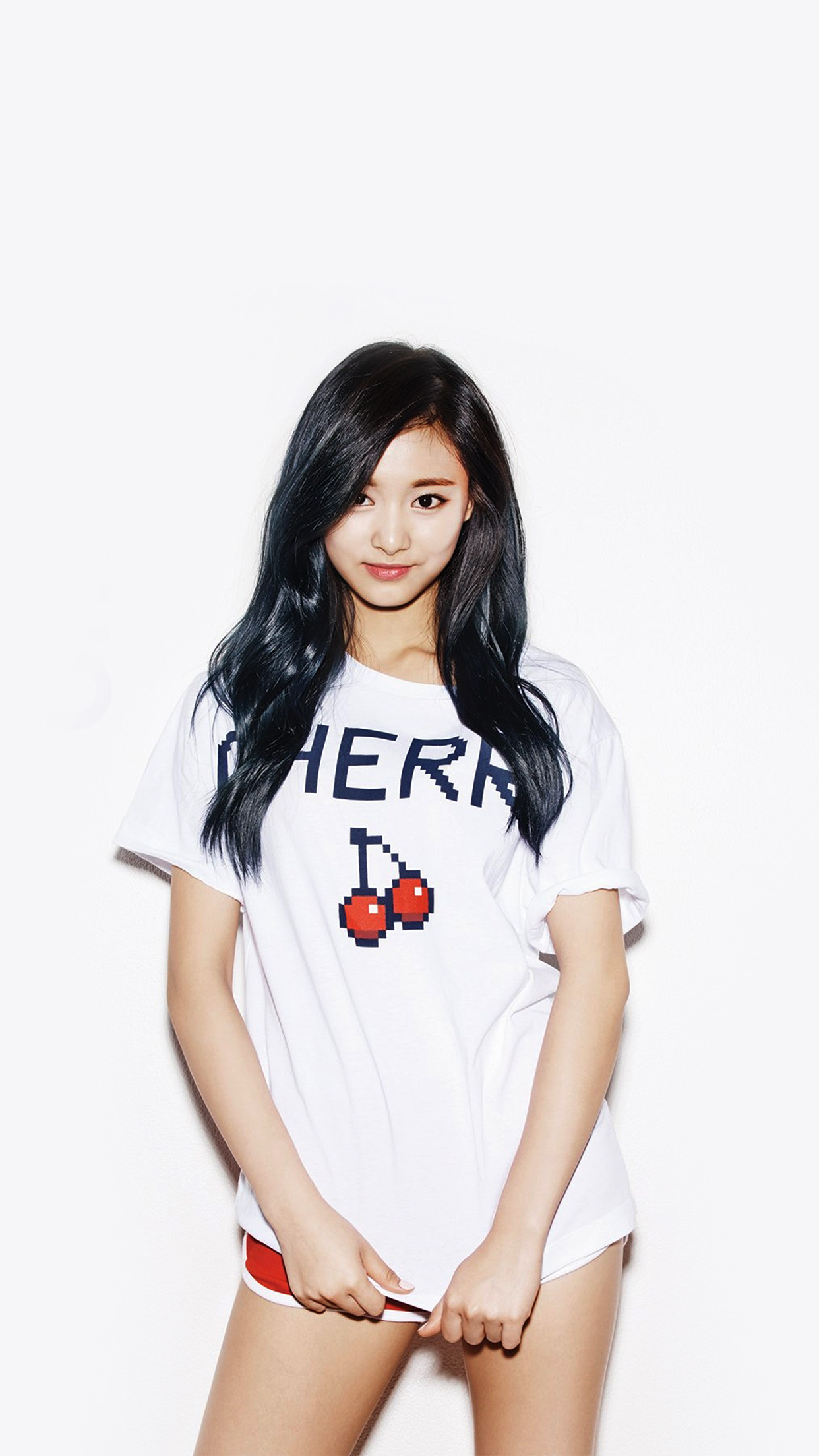 Kpop Tzuyu Oh Boy Cute Asian Twice Android Wallpaper Android Hd