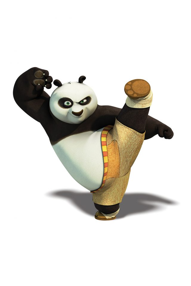 Kungfu Panda Dreamworks Animal Kick Cute Anime Android wallpaper