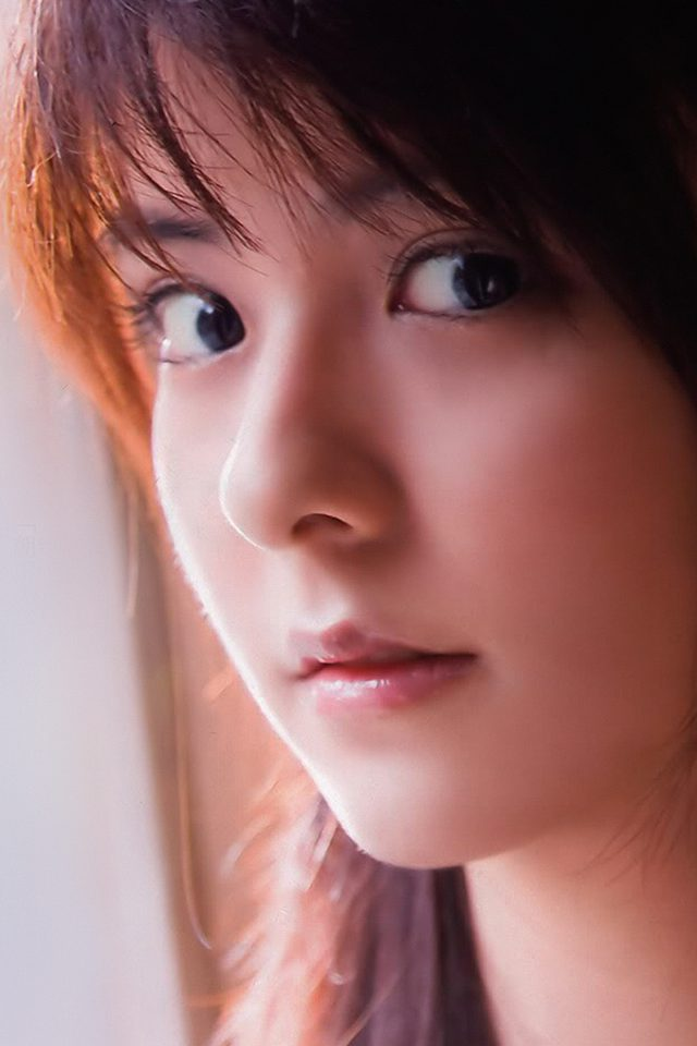 Mina Fujii Cute Girl Face Kpop Android wallpaper