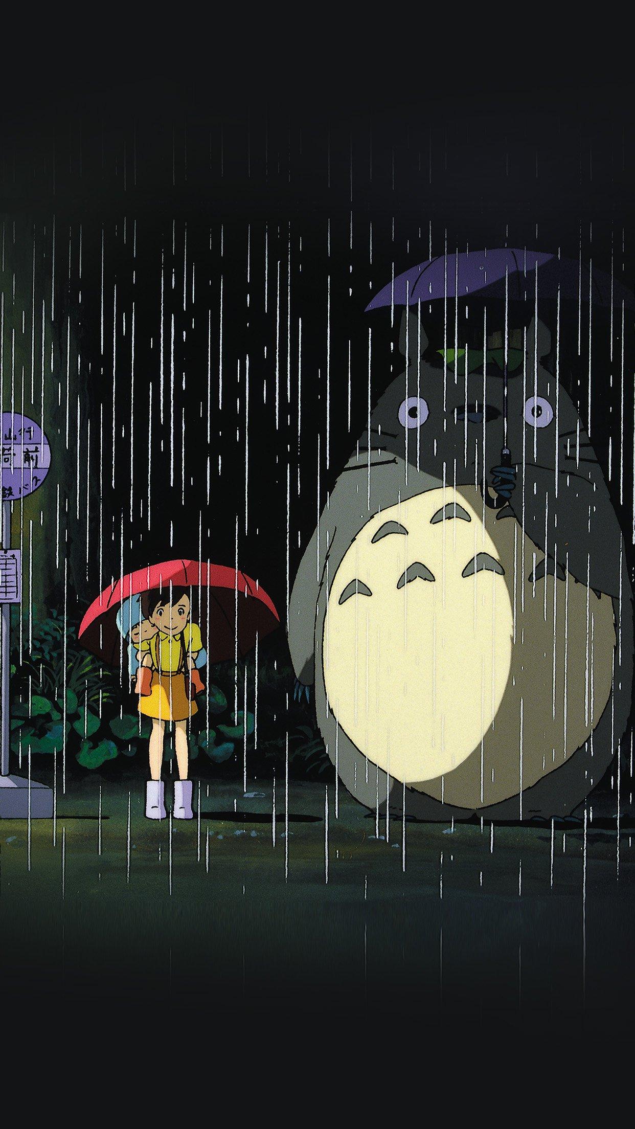 Most Inspiring Wallpaper Anime Aesthetic - My-Neighbor-Totoro-Art-Illust-Rain-Anime  Photograph_22537      .jpg