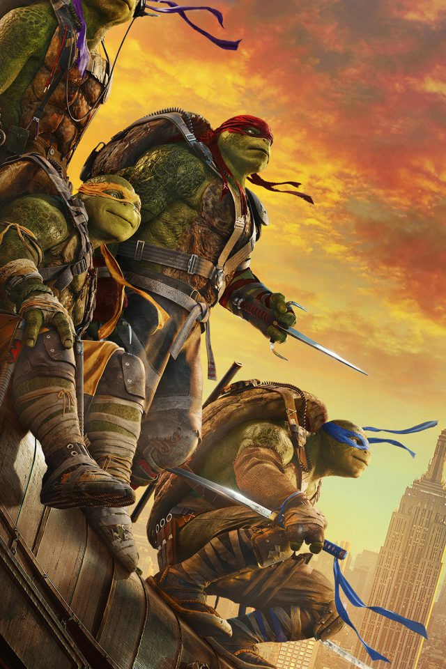Ninja Turtle Poster Film Anime Art Android wallpaper