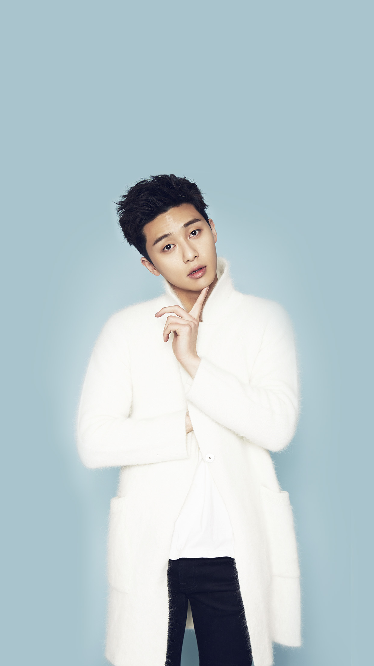 Park Seo Joon Kpop Blue Handsome Cool Guy Android wallpaper
