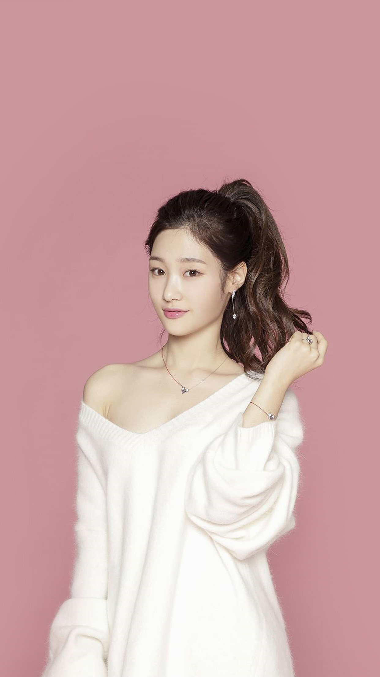 Pink Ioi Chaeyeon Cute Kpop Asian Android Wallpaper Android Hd