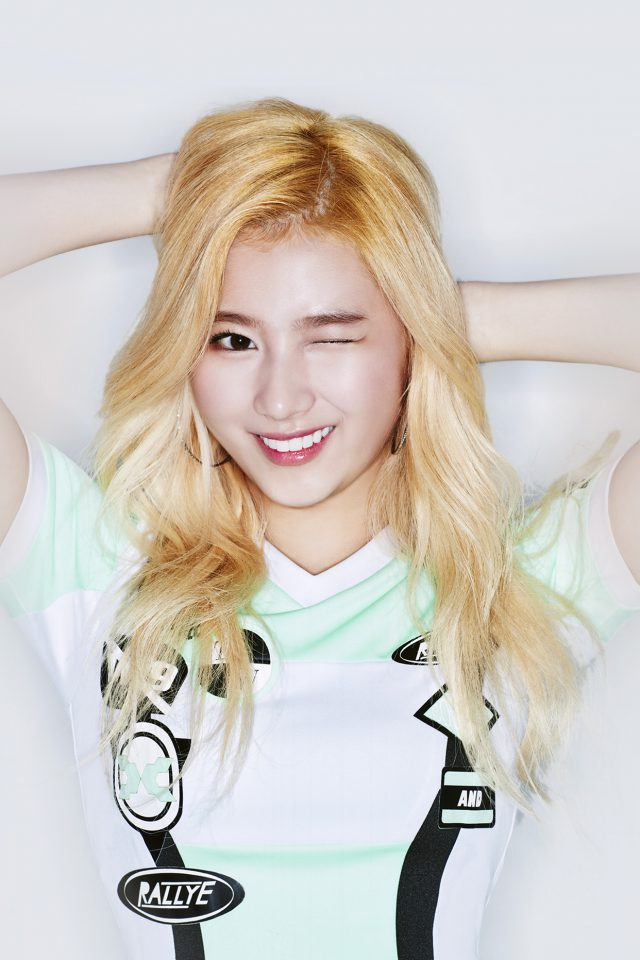 Sana Twice Kpop Girl Cute Android wallpaper