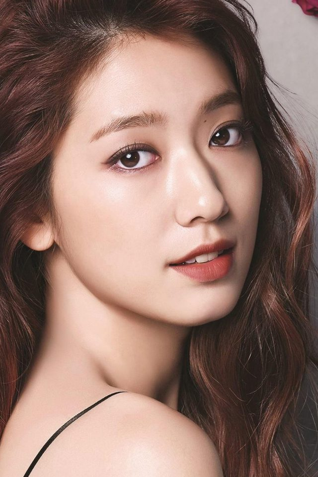 Shinhye Park Kpop Actress Celebrity Flower Android wallpaper