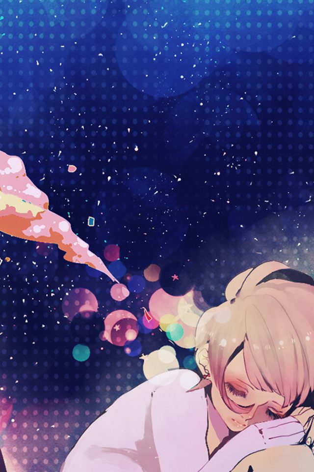 Sleeping Girl Anime Art Illustration Android wallpaper