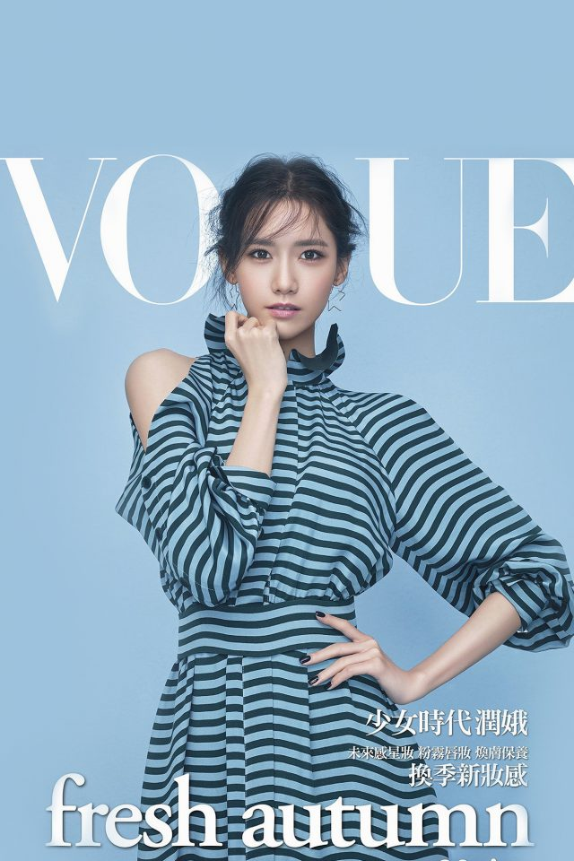 Snsd Kpop Girl Yoona Magazine Photo Android wallpaper