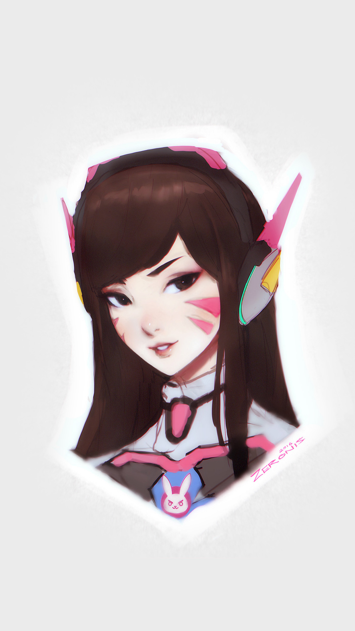 Song Hana Overwatch Chracter Game Illustration Art Android wallpaper