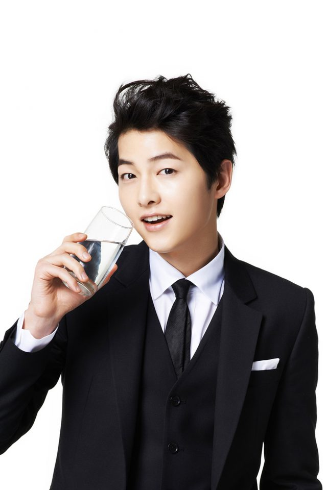 Song Joonggi Water Drink Model Kpop Android wallpaper