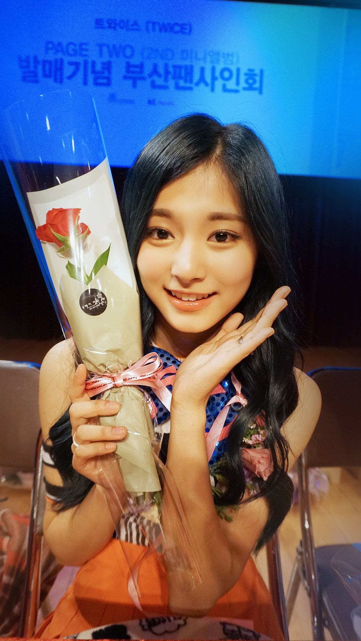 Twice Kpop Girl Flower Tzuyu Fan Android Wallpaper Android Hd