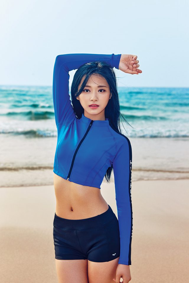 Tzuyu Kpop Girl Sea Summer Cool Android wallpaper
