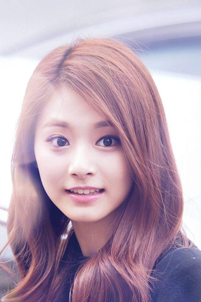 Tzuyu Twice Smile Cute Kpop Jyp Flare Android wallpaper